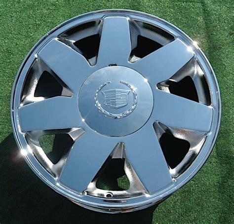 1 Brand NEW 2004 CHROME Cadillac Deville DTS 17 inch