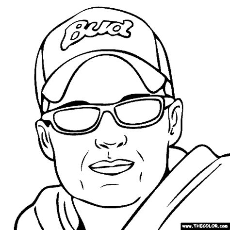 Dale Earnhardt Drawing at GetDrawings   Free download